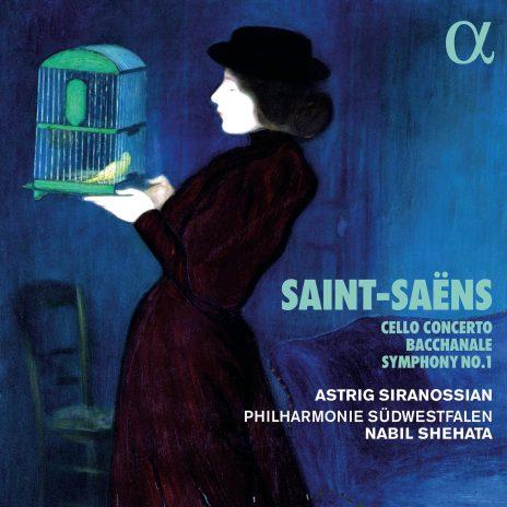 Astrig Siranossian - CD Saint-Saens