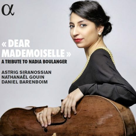 Astrig Soranossian cello CD Dear Mademoiselle